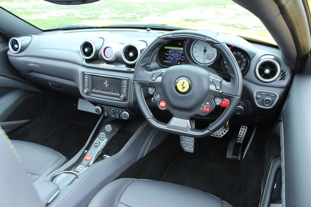 2017 Ferrari California T Handling Speciale - interior