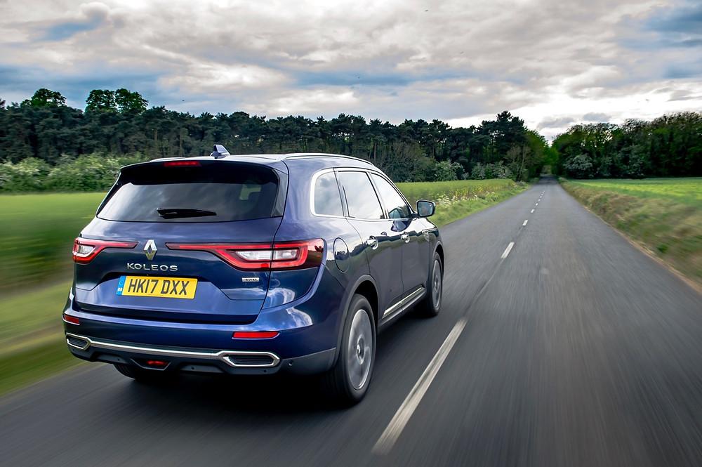 Renault Koleos rear 3/4 driving