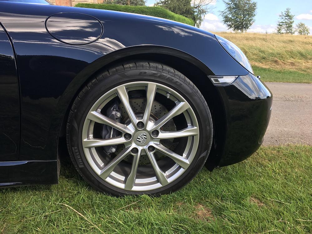 2016 Porsche 718 Boxster - alloy wheel