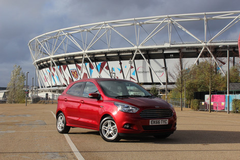 2016 Ford KA+ Review
