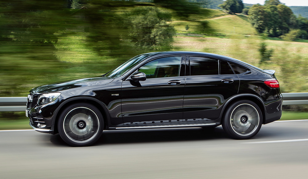 2017 Mercedes-AMG GLC 43 4Matic Coupe - side