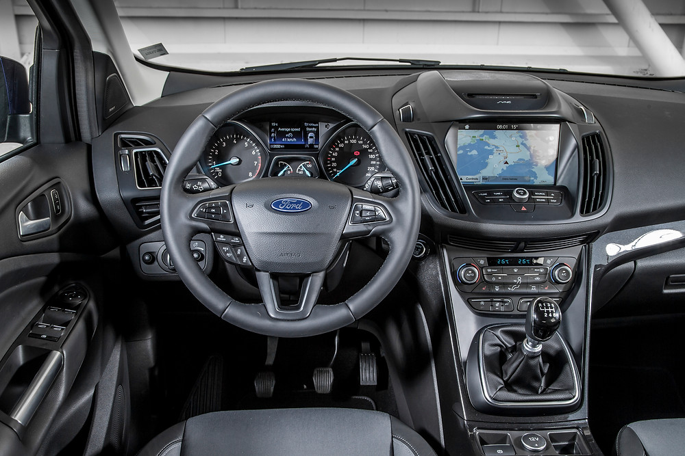 2017 Ford Kuga - inside
