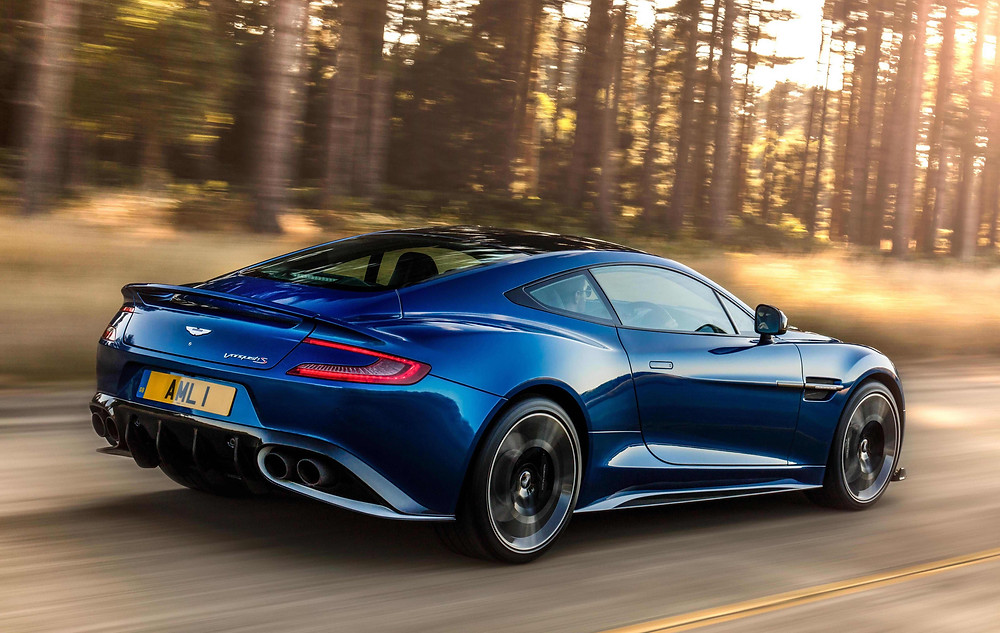 2017 Aston Martin Vanquish S - rear three-quarters