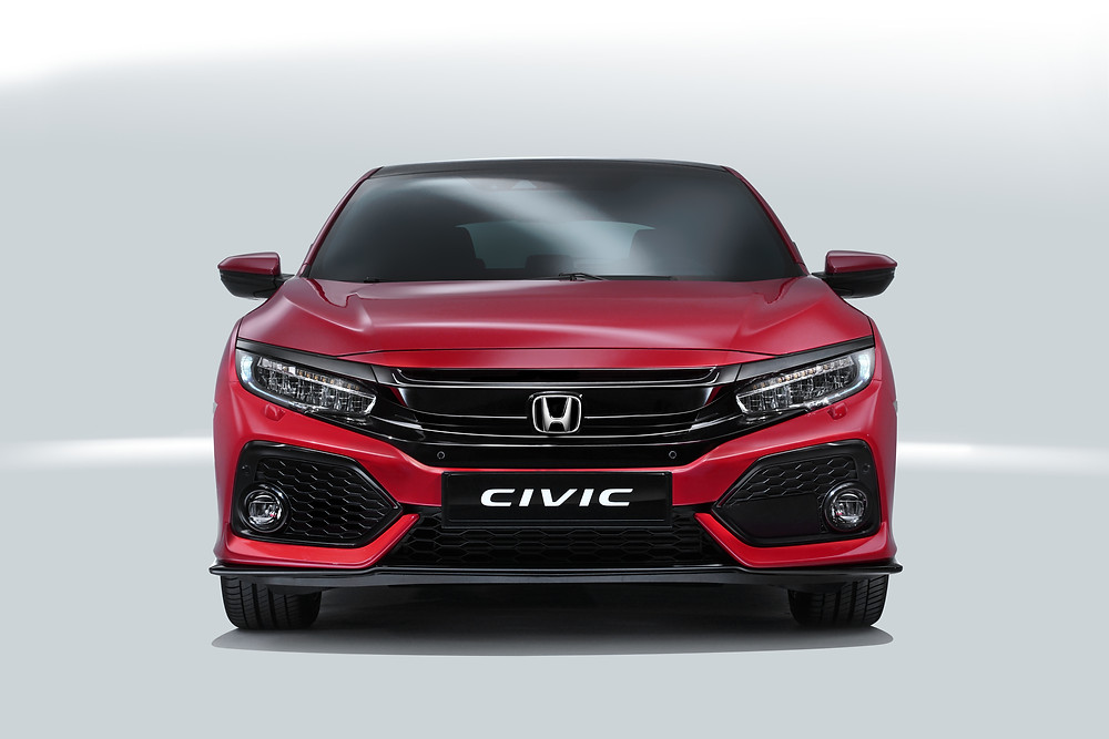 2017 Honda Civic - front