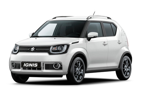 New Suzuki Ignis to be unveiled at the 2016 Paris Motor Show