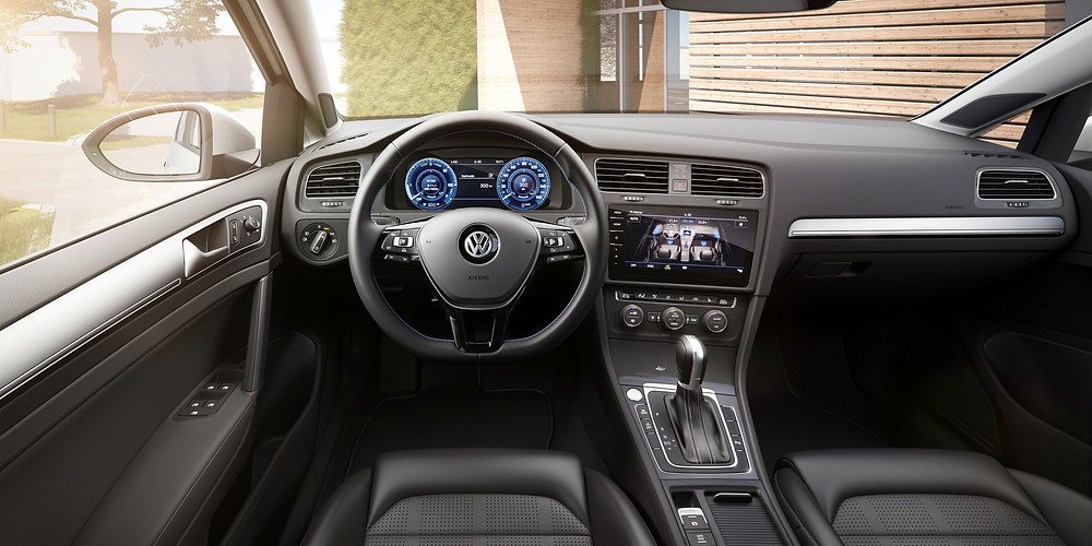 2017 VW e-Golf - interior