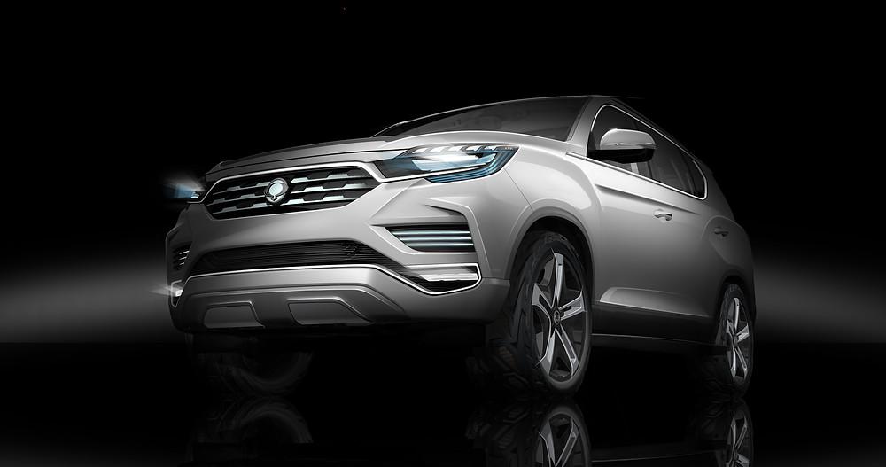 Ssangyong LIV-2 SUV Concept