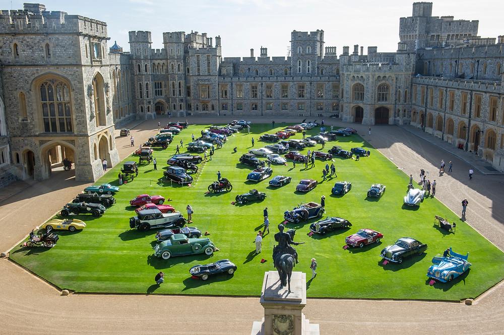 Windsor Castle Quadrangle - 2016 Concours of Elegance