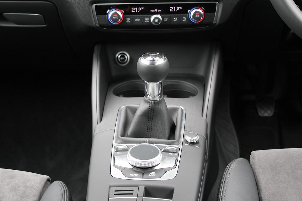 2017 Audi A3 1.0 TFSI Sport - manual gearbox