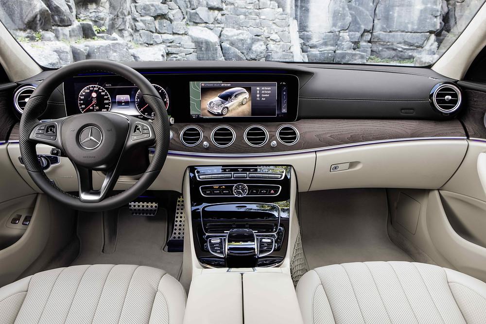 2017 Mercedes-Benz E-Class All-Terrain - interior