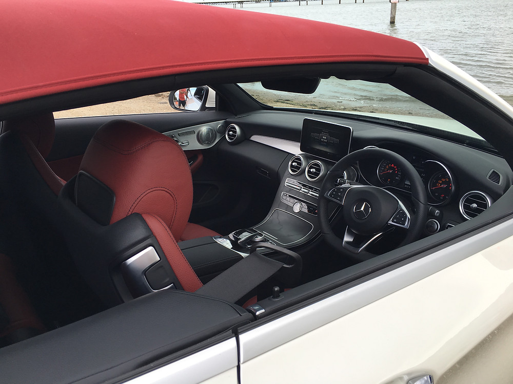 Mercedes C-Class Cabriolet - inside
