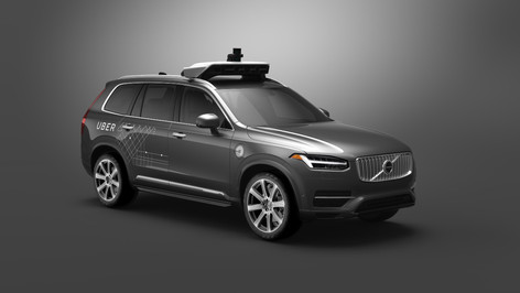 Volvo and Uber to co-develop driverless taxis
