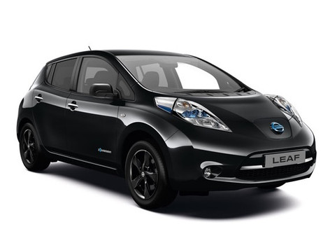 2017 Nissan Leaf Black Edition launched