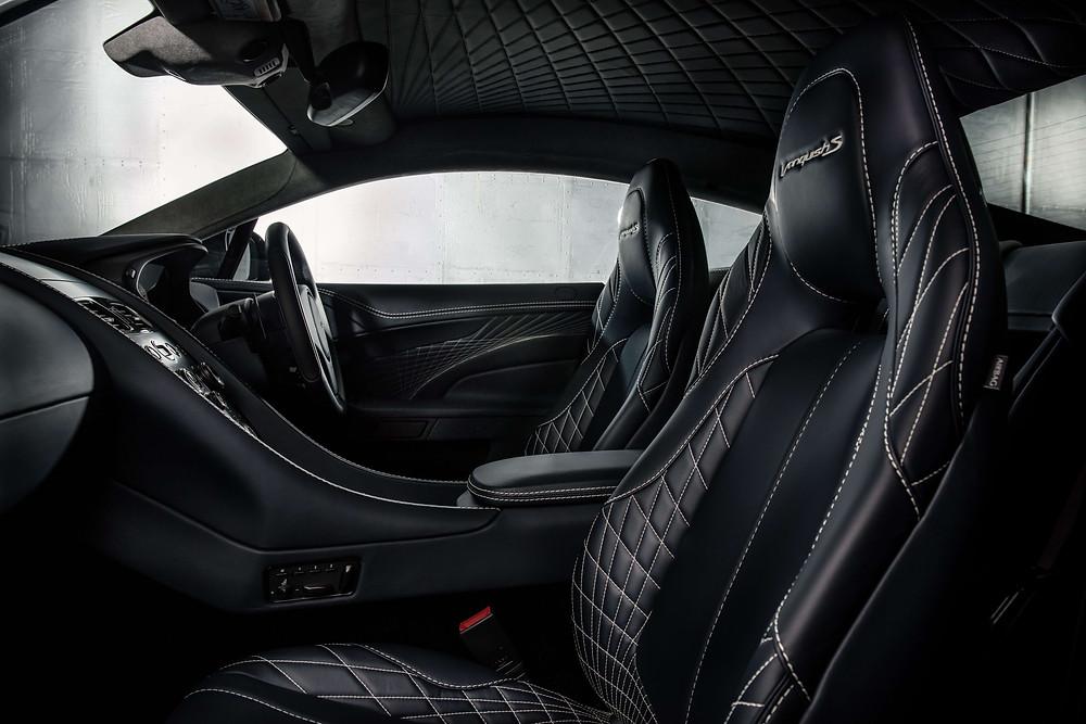 2017 Aston Martin Vanquish S - interior