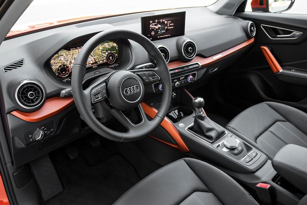 2016 Audi Q2 interior