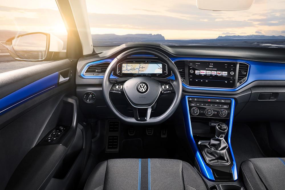 2018 Volkswagen T-Roc dashboard