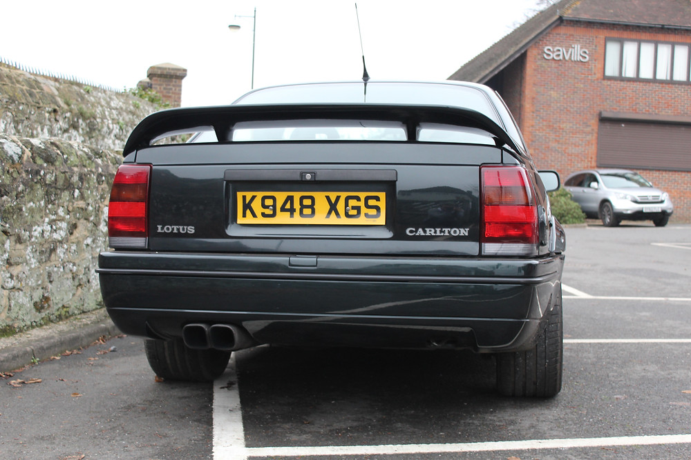 1992 Vauxhall Lotus Carlton - rear