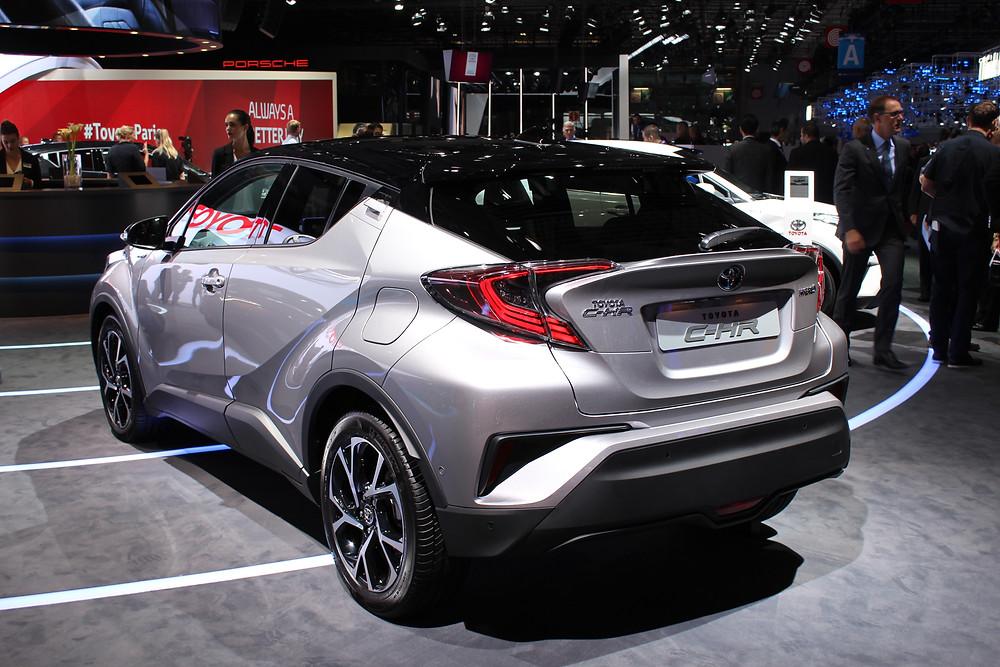 2017 Toyota C-HR - rear