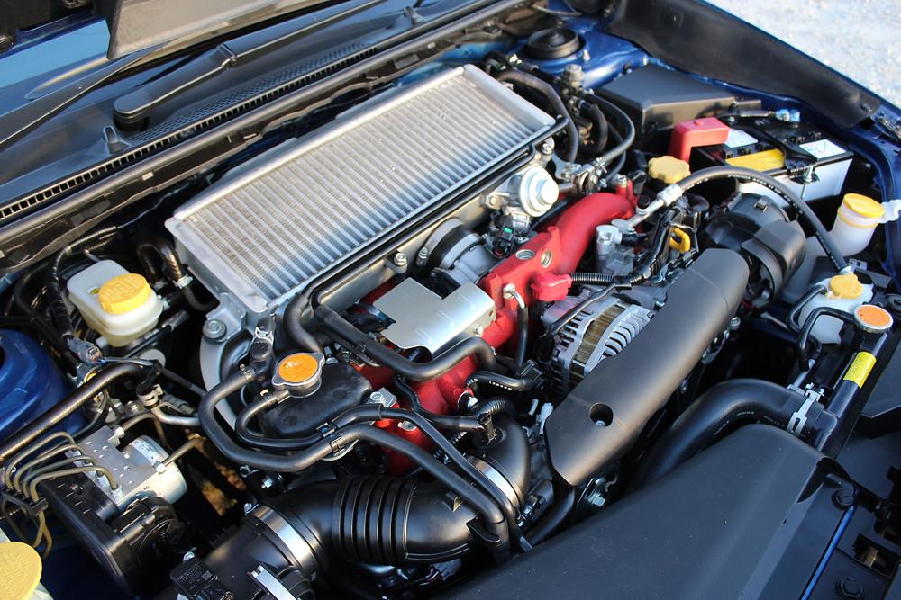 2017 Subaru WRX STi 2.5l engine