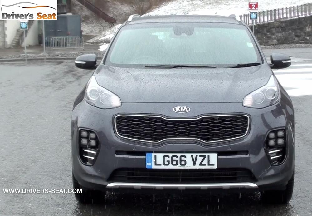2017 Kia Sportage - front