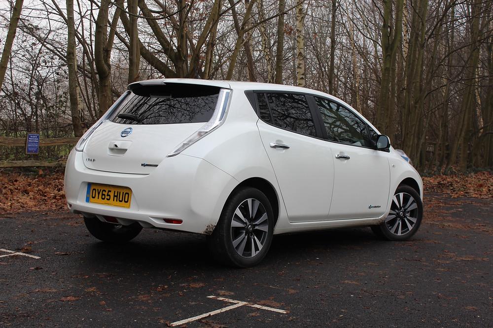 Nissan Leaf - Rear 3/4