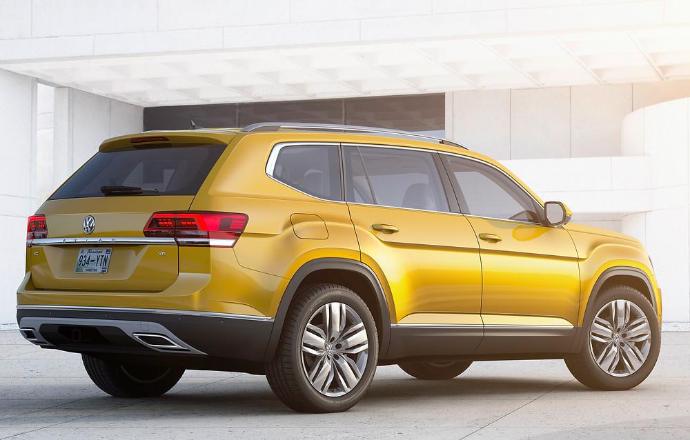 2017 Volkswagen Atlas - rear