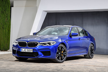 New BMW M5 unveiled with all-wheel drive
