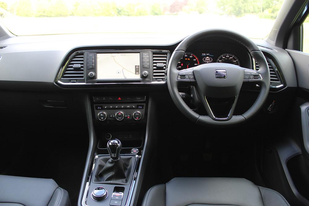 SEAT Ateca EXCELLENCE - interior