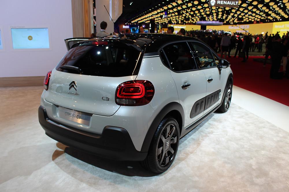 Citroen C3 - rear