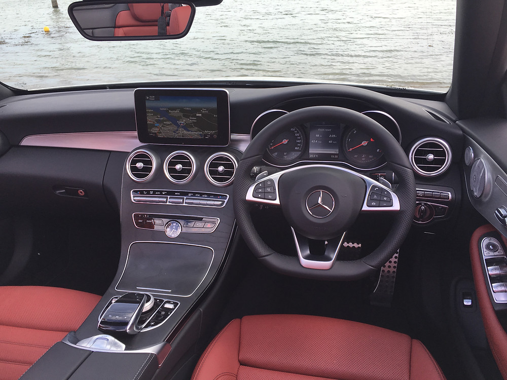 Mercedes C-Class Cabriolet - front