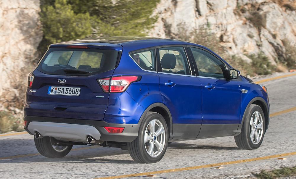 2017 Ford Kuga - rear