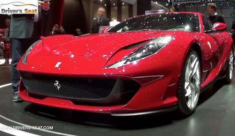 Ferrari 812 Superfast unveiled at the Geneva Motor Show