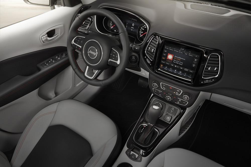2017 Jeep Compass - interior