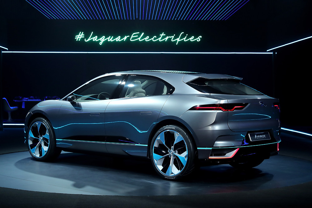 2018 Jaguar I-PACE - rear 3/4