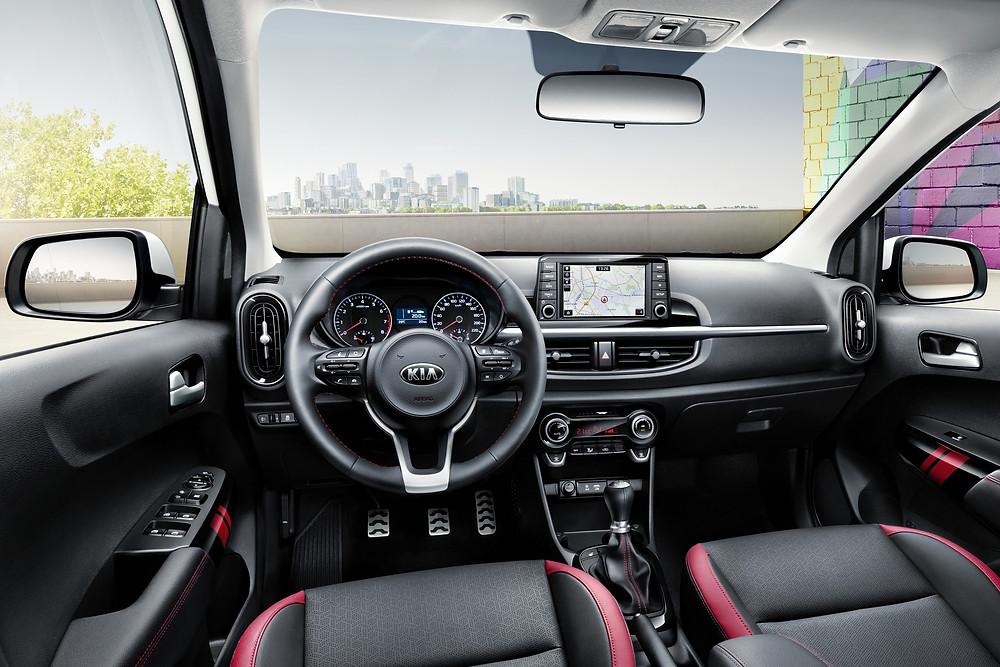 2017 Kia Picanto - interior