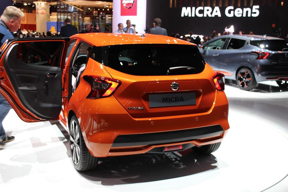 2017 Nissan Micra - rear