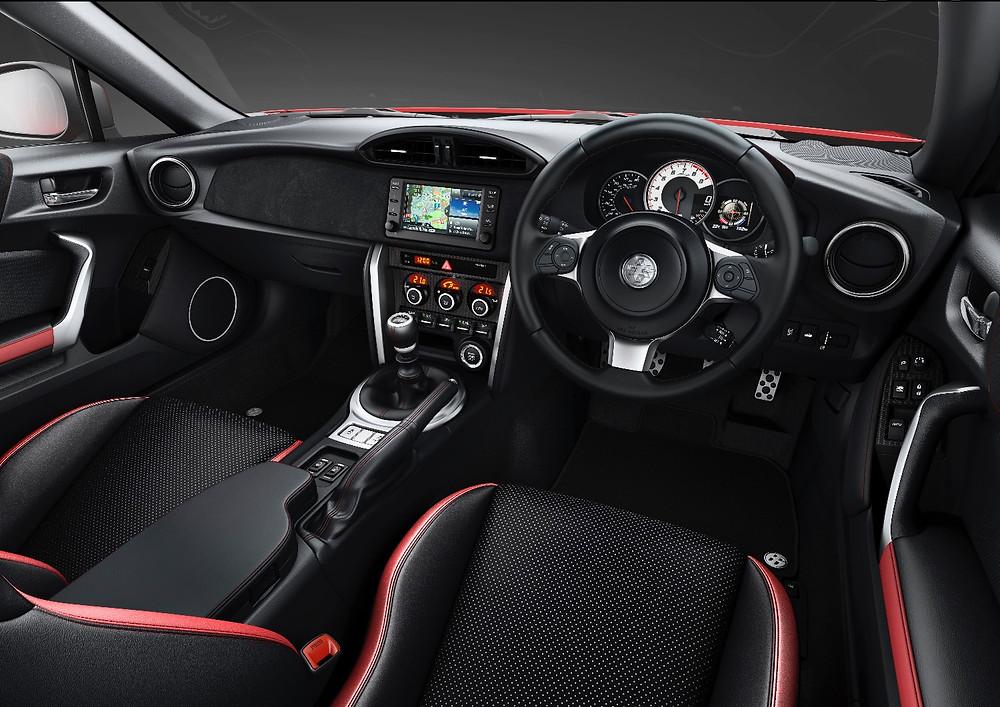 2017 Toyota GT86 - interior