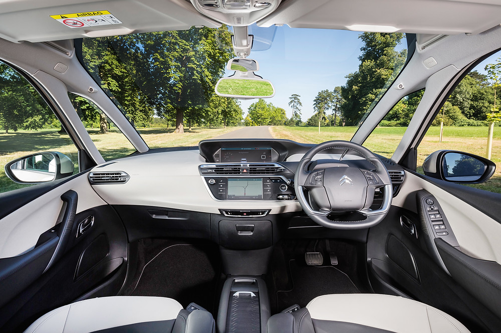 Citroen C4 Picasso and C4 Grand Picasso Interior