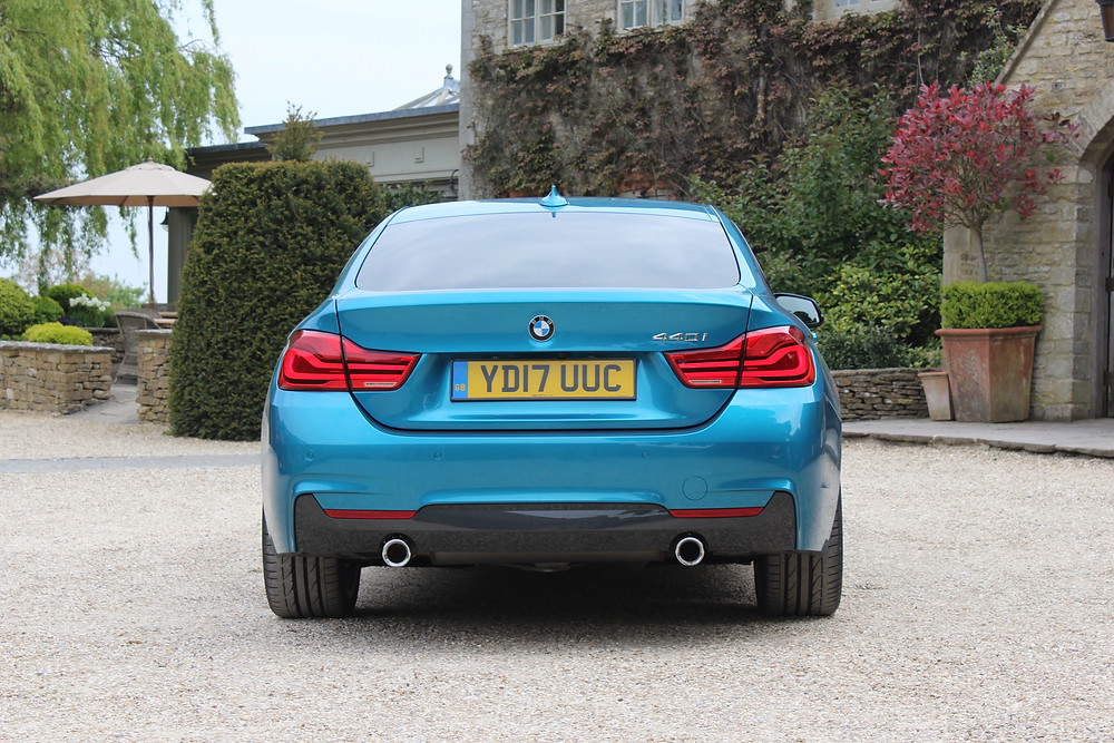 BMW 440i Gran Coupe - rear