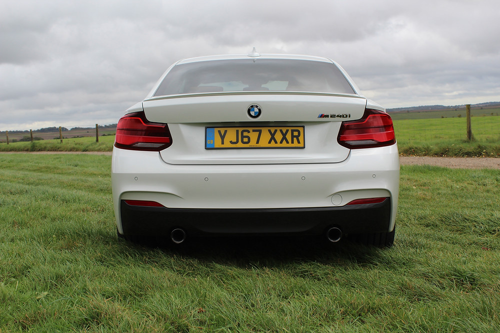 2017 BMW M240i Coupe rear
