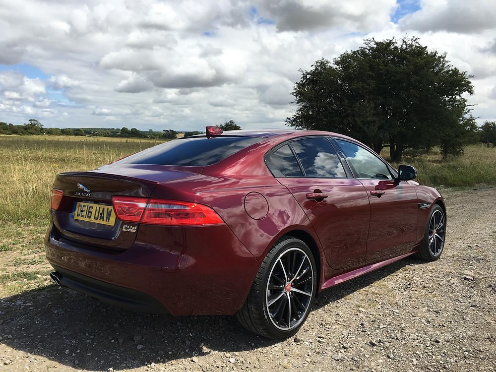 Jaguar XE AWD - rear 3/4