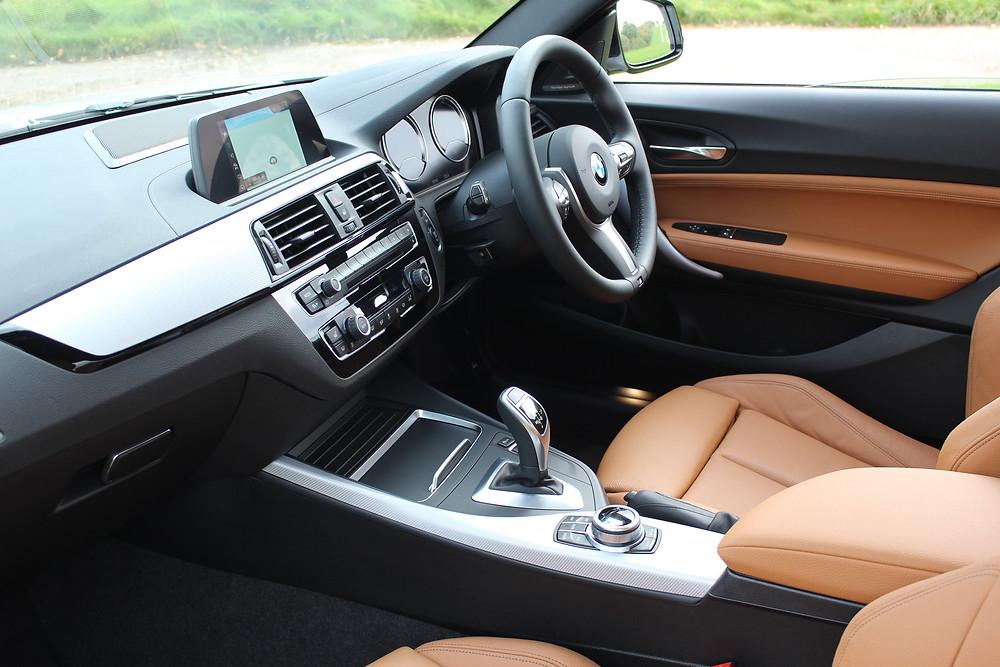 2017 BMW M240i Coupe interior