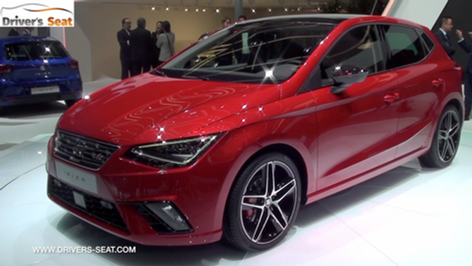 2017 SEAT Ibiza revealed at Geneva Motor Show