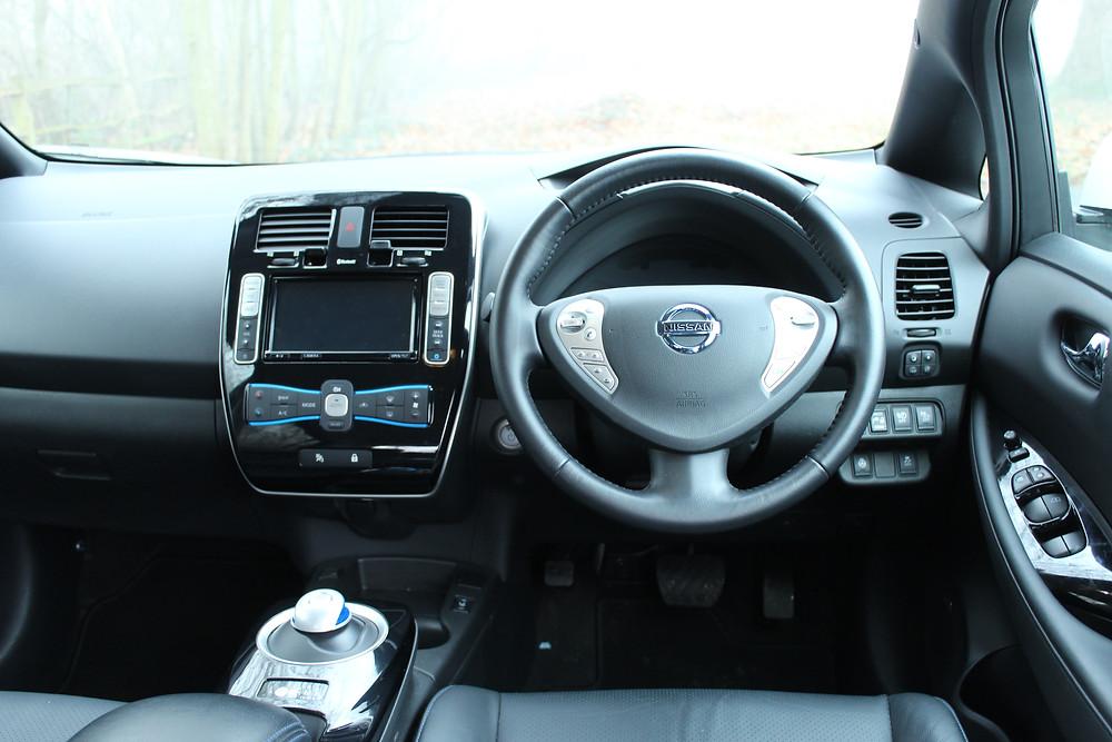 2016 Nissan Leaf - inside