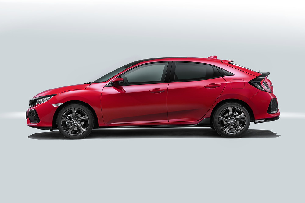 2017 Honda Civic - side