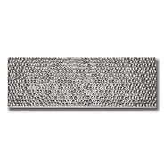 "IMPRESSIONS 4"" X 12"" SILVER (HAMMERED).j"