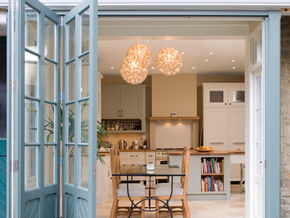 We love bifolding doors