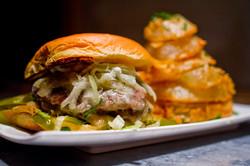 Burger w_ Rings