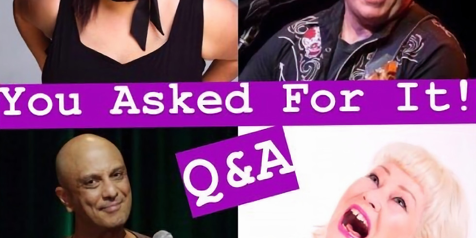 You Asked For It! Q&A with the Stars!