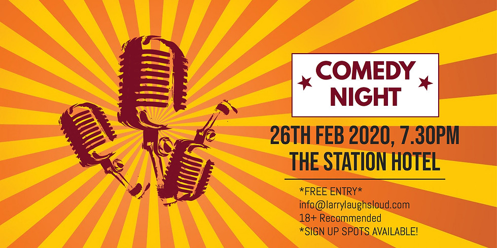 Comedy at The Station